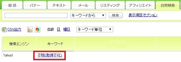 Yahoo!取得不可